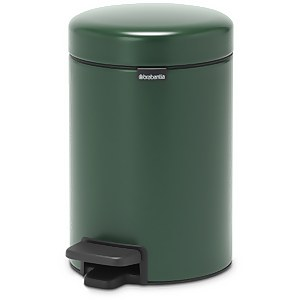 Brabantia New Icon 3 Litre Pedal Bin - Pine Green