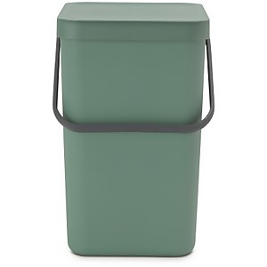 Brabantia Sort & Go 25 Litre Waste Bin - Fir Green