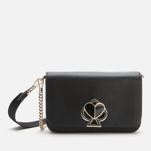 Kate Spade New York Women's Nicola Twistlock Medium Convertible Cross Body Bag - Black