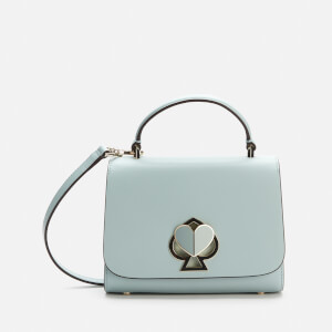 Kate Spade New York Women's Nicola Twistlock Small Top Handle Bag - Cloud Mist