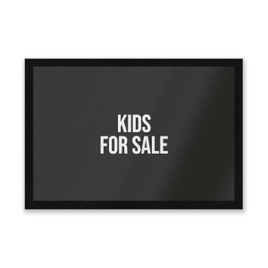 Kids For Sale Entrance Mat