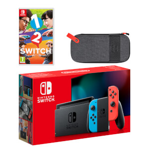 Nintendo Switch (Neon Blue/Neon Red) 1-2-Switch Pack