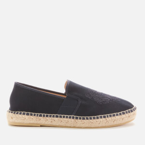 KENZO Men's Tiger Head Elastic Espadrilles - Navy