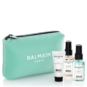 Balmain Limited Edition Cosmetic Bag - Green