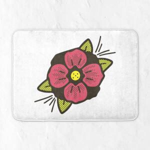 Summer Flower Bath Mat
