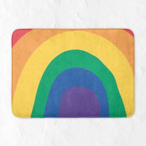 Close Up Rainbow Bath Mat