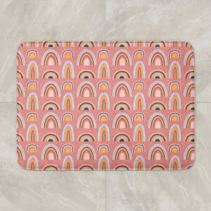 Rainbow Pink Bath Mat