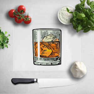 Whisky Chopping Board