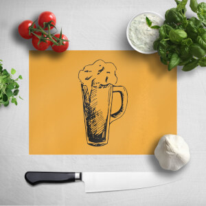 Beer Glass Chopping Board