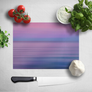 Sunset Purple Tones Chopping Board