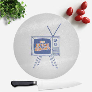 The Great Indoors Round Chopping Board