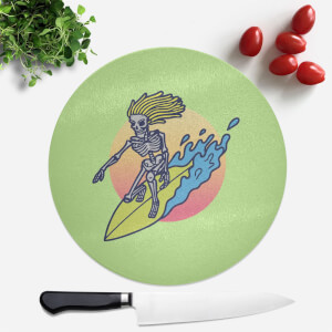 Surfs Up! Round Chopping Board