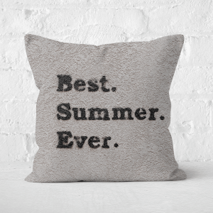 Best Summer Ever. Square Cushion