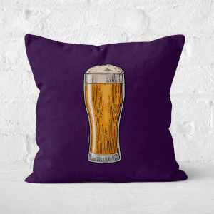 Beer Square Cushion