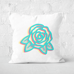 Summer Rose Square Cushion