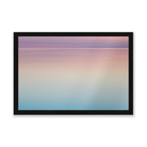 Sunset Blue And Pink Entrance Mat