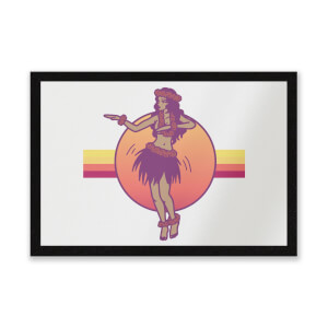 Hula Dance Entrance Mat