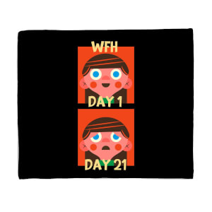 How Many Days? Fleece Blanket