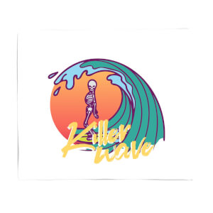 Killer Wave Dude Fleece Blanket