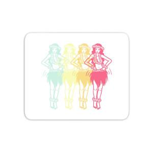 Hula Girls Mouse Mat