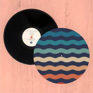 Rainbow Wave Slip Mat