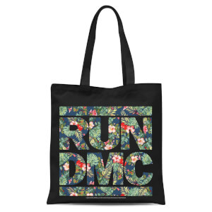 Tote Bag Tropical Run Dmc - Noir