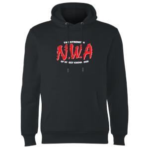 Felpa con cappuccio NWA The Strength Of Street Knowledge - Nero