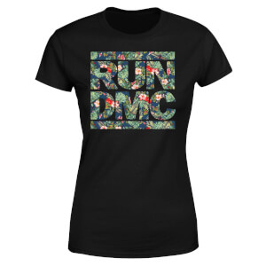 T-shirt Tropical Run Dmc - Noir - Femme