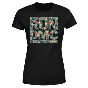 Tropical Run Dmc Women's T-Shirt - Black