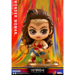 Figura Wonder Woman WW84 10 cm - Hot Toys Cosbaby Hot Toys