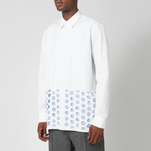 Maison Margiela Men's Popline New Relaxed Shirt - White