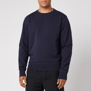 Maison Margiela Men's Elbow Patch Sweatshirt - Navy