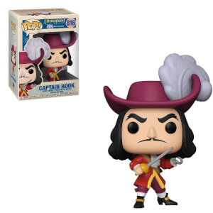 Disney 65 Captain Hook New Pose Funko Pop! Vinyl