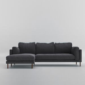 Swoon Munich Smart Wool Corner Sofa - Left Hand Side