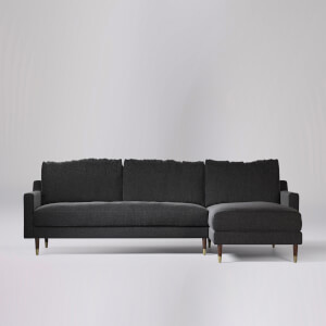 Swoon Reiti Smart Wool Corner Sofa - Right Hand Side