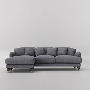 Swoon Holton Smart Wool Corner Sofa - Left Hand Side