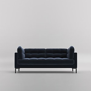 Swoon Landau Velvet 2 Seater Sofa