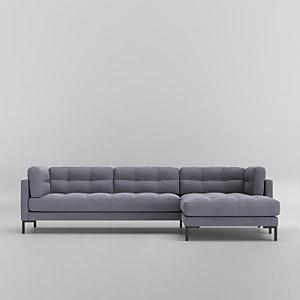Swoon Landau Smart Wool Corner Sofa - Right Hand Side