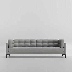 Swoon Landau House Weave 3 Seater Sofa