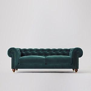 Swoon Winston Velvet 3 Seater Sofa