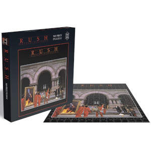 Rush Moving Pictures (500 Piece Jigsaw Puzzle)