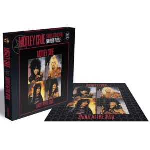 Motley Crue Shout at the Devil (500 Piece Jigsaw Puzzle)
