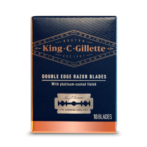 King C Gillette Rasierhobel Klingen