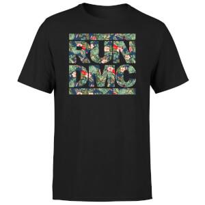Tropical Run Dmc Men's T-Shirt - Black