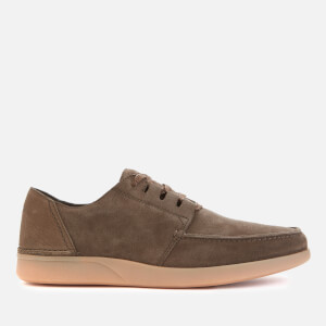 Clarks Men's Oakland Walk Suede Shoes - Dark Olive
