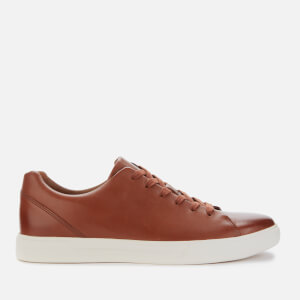 Clarks Men's Un Costa Lace Leather Low Top Trainers - British Tan