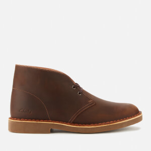 Clarks Men's Desert 2 Leather Boots - Beeswax
