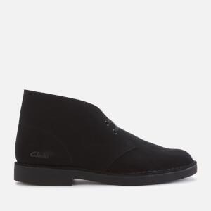 Clarks Men's Desert 2 Suede Boots - Black