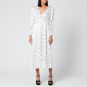 Olivia Rubin Women's Valentina Dress - White Polka Dot