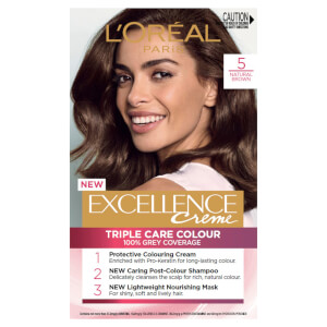 L'Oréal Paris Excellence Creme Permanent Hair Colour - Brown 5.0